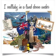 Colourful collage of Australia World Tour Beads #TrollbeadsWorldTour