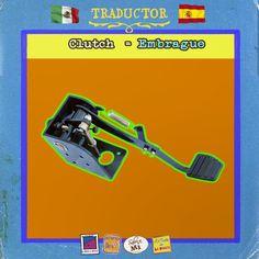De las cosas más complicadas de controlar cuando aprendes a manejar (conducir) www.lapanzaesprimero.com #MexicanosenEspaña #Traductor