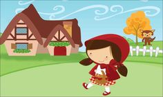 Story Characters, Disney Characters, Red Riding Hood Party, Little Red Ridding Hood, Red Party, Cute Images, Holidays And Events, Fairy Tales, Clip Art