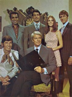 Really this is a Peter Graves appreciation post. But I was just looking at a couple of photos of Peter Graves with Lesley . Spy Shows, Old Tv Shows, Tv Actors, Actors & Actresses, Mission Impossible Tv Series, Lynda Day George, Actor James, Vintage Television, Leonard Nimoy
