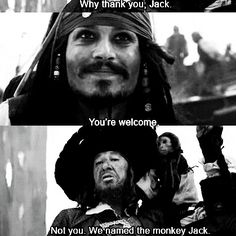Pirates of the Caribbean ;)