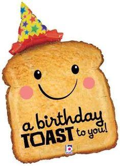 Birthday Toast Balloon - Happy Birthday Funny - Funny Birthday meme - - Birthday Toast Balloon The post Birthday Toast Balloon appeared first on Gag Dad. Happy Birthday Wishes Cards, Birthday Blessings, Happy Birthday Funny, Happy Birthday Quotes, Happy Birthday Images, Card Birthday, Balloon Birthday, Birthday Memes, Birthday Sayings