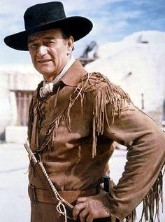 """John Wayne en """"El Álamo"""", 1960"""