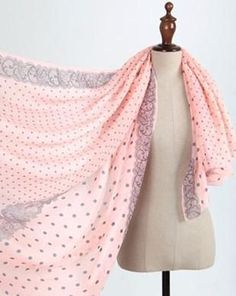Bright My Day Long Print Scarf - 15 Patterns