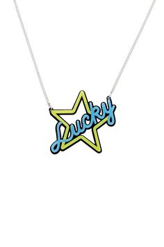 Lucky Star Neon Necklace, £35: http://www.tattydevine.com/shop/collections/contemporary/lucky-star-neon-necklace.html