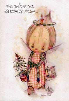 BETSY CLARK | Cute Imágenes para bajar | Dibujos TAMAÑO XL | TARJETAS CARDS | art collection Art Illustration