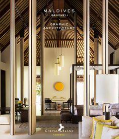 Pivoting Doors. Cheval Blanc Randheli Hotel, Maldives