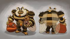 Bee King by M-Katar