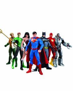 #amazon DC Comics New 52 Justice League 7-Pack Action Figure Box Set - $80.56 (save 19%) #dccollectibles #toy #actionfigures