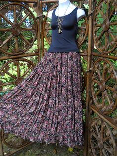 Neo Nostalgia Victorian rose broomstick skirt  by LamplightGifts, $19.00