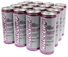 Kill Cliff Blackberry Lemonade Recovery & Hydration Drink 16 - 12 oz Cans Hydrating Drinks, Cliff, Energy Drinks, Red Bull, Blackberry, Lemonade, Wealth, Recovery, Berries