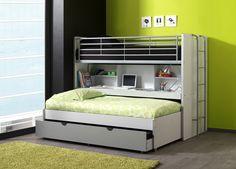 Potrójne łóżko piętrowe Bonny http://dladziecka-net.pl/