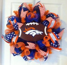 A personal favorite from my Etsy shop https://www.etsy.com/listing/193154289/nfl-football-decomesh-wreaths
