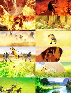 Spirit: Stallion of the Cimarron. I may love this movie too much....
