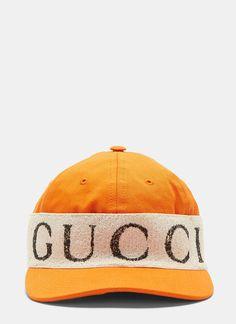 9866118be0f Gucci Logo Band Baseball Cap in Orange Athletic Fashion