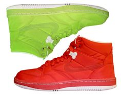 Nike Sky Force 88 Mid TXT – Action Red + Electric Green. A lil bright but they will definitely draw some attention.
