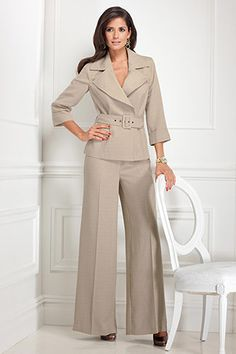 Safari Style Pantsuit