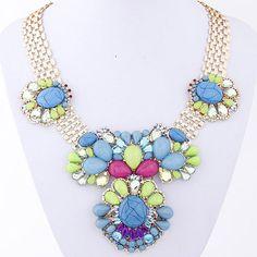 Multicolor Necklace! https://www.facebook.com/pages/Collares-y-Accesorios-de-Moda-Yen-En-Tijuana/865787360105631?ref=aymt_homepage_panel