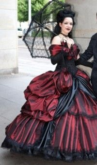 Gothic Dresses for Weddings