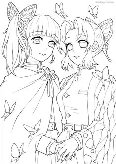 Manga Coloring Book, Cute Coloring Pages, Coloring Books, Anime Drawings Sketches, Anime Sketch, Lineart Anime, Anime Character Drawing, Arte Sketchbook, Drawing Base