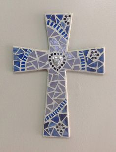 Christian Cross Nursery Wall Cross Christening Gift Unique
