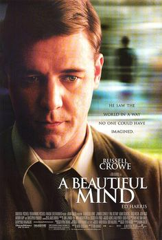 Russell Crowe stars as John Nash, an economics prodigy who achieves great statistical and mathematical breakthroughs while also struggling with paranoid schizophrenia. Though some critics said it wasn't an accurate portrayal of the Nobel Prize winner's life, the film did receive the best picture Academy Award in 2002.