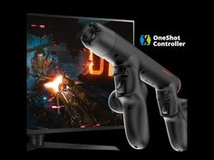 Revolutionary FPS/TPS game controller with immersive first/third angle gaming experience. Ergonomic shape, firm grip.
