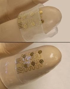 Electronic skin: capacitance-based pressure sensing, bend detection from silicon nanomembrane (Si NM) strain gauges, tactile stimulation from multiplexed Si NM diodes. Urbana-Champaign