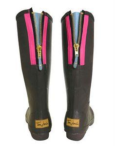 cute rainboots for Oklahoma's nasty snow and rain.