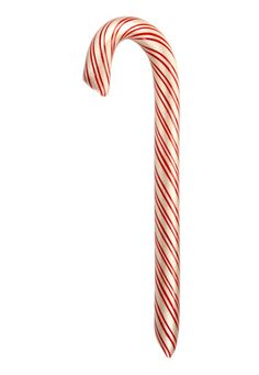 Hot cinnamon with sweet vanilla creme candy cane