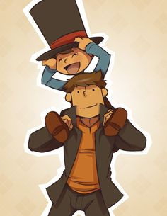 I want a piggyback, Professah! by zillabean on DeviantArt