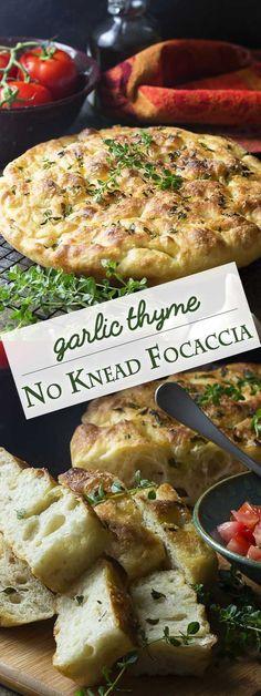 No knead bresd