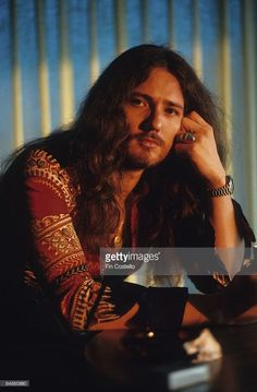 Photo of David COVERDALE and DEEP PURPLE; David Coverdale, posed
