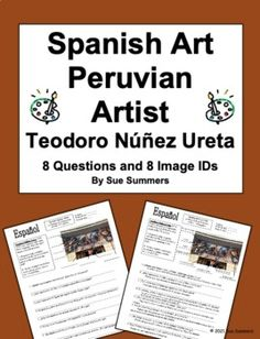 Spanish Art - Peruvian Artist Teodoro Núñez Ureta 8 Questions 8 Images
