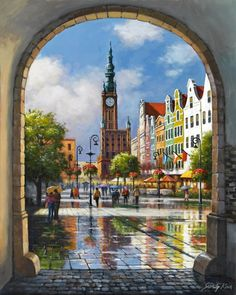 Clock Tower Archway ~ Sung Kim ~ Product Categories ~ Bentley Licensing Group.