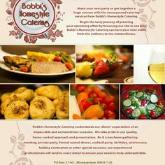 Bobbi's Homestyle Catering!