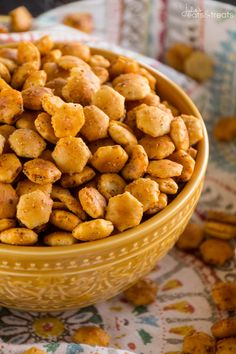 Taco Oyster Crackers Recipe ~ Quick, Easy Snack Mix Recipe that