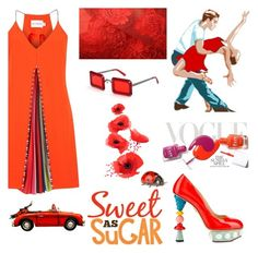 """Sweet as sugar"" by nicolevalents ❤ liked on Polyvore featuring Mary Katrantzou, Dolce&Gabbana and Roksanda Ilincic"