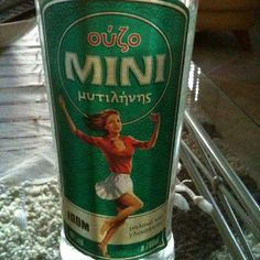 This is a really good brand of ouzo! Beverages, Drinks, Greek Recipes, Best Brand, Water Bottle, Alcohol, Party, Food, Style