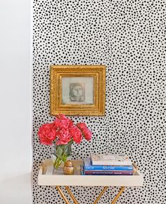 Wrought Studio Mckinnon Speckle Paintable Peel and Stick Wallpaper Roll Wallpaper Panels, Fabric Wallpaper, Wallpaper Roll, Peel And Stick Wallpaper, Wallpaper For House, Paintable Wallpaper, Monochrome Interior, Interior Design, Modern White Bathroom