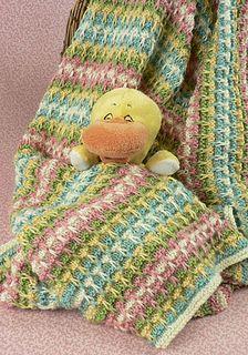 Ravelry: Mirbeau Slip Stitch Baby Blanket pattern by Brenda A. Lewis
