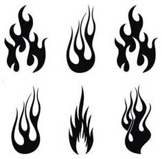 fire stencil - Bing Images
