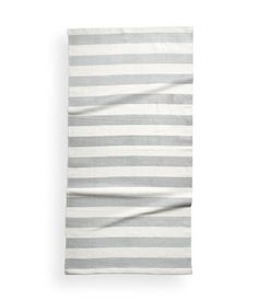 Check this out! Rectangular cotton rug with printed stripes. Non-slip backing. - Visit hm.com to see more.