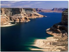 Love of my life, Lake Powell Arizona/Utah! Can't wait to see you this summer:) Beautiful Nature Pictures, Beautiful Places, Amazing Nature, Pretty Pictures, Beautiful Landscapes, Wyoming, Lago Powell, Idaho, Places To Travel