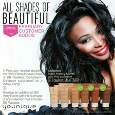 Beautiful in all shades!  Take a look at the 6 shades we have in our BB Cream!