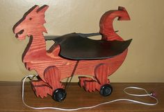 Medieval Toys Looks like a Medieval Welsh dragon!