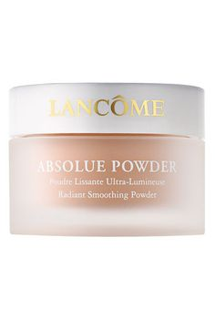 Lancôme 'Absolue' Powder Radiant Smoothing Powder available at #Nordstrom  Innovative Color Clarity™ technology, with soft-focus micro sparkles, optimizes the effects of light and diminishes the appearance of imperfections for a naturally even and glowing complexion.