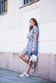 Jeanette Sundøy – Shirtdress - Shirt - Stripes - Bue - By Malene Birger - Outfit - Fashion