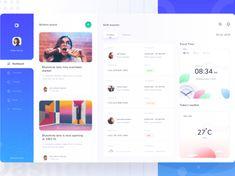 UI Design Inspiration Digital Dashboard, Web Dashboard, Dashboard Design, Dashboard Interface, Top Website Designs, Website Design Company, Flat Web Design, App Design, Design Ideas