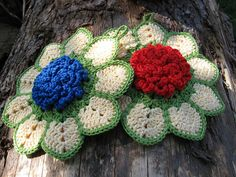 Crochet Flower Inspiration - color